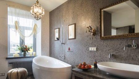 Все о декоративной штукатурке для ванной комнаты
