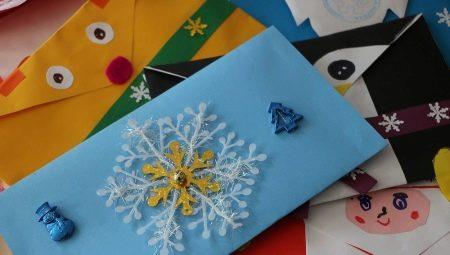 Делаем новогодние конверты