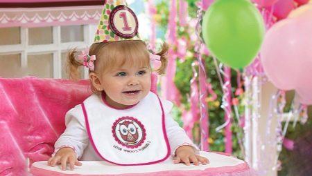 Как отметить день рождения девочки возрастом 1 год?