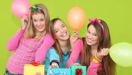 Как отпраздновать день рождения девочки 13 лет?
