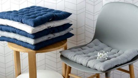 Выбираем подушку на стул