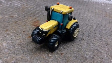 Способы лепки трактора из пластилина