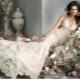 Длинные кружевные свадебные платья