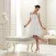 Короткие кружевные свадебные платья - женственно и сексуально