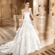 Пышное свадебное платье со шлейфом - наряд, достойный королев