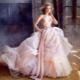 Бальные свадебные платья - очень пышный фасон для принцесс