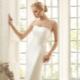 Свадебное платье А-силуэта - непышно, но элегантно