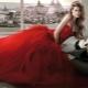 Красное свадебное платье - для самых ярких невест
