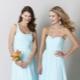 Голубое платье - создай эффектный яркий или нежный образ