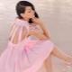 Розовое платье – для женственного образа