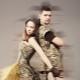 Камуфляжное платье - образ в стиле милитари