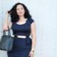 Офисные и деловые платья для полных женщин