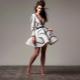 Платье из неопрена - современные технологии в тканях