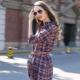 Платье-рубашка в клетку – непринужденный стильный образ