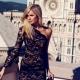 Платье с одним рукавом – модная асимметрия