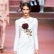 Платье с розами – олицетворение женской натуры