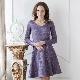Платье с юбкой полусолнце – кокетливые нотки в образе