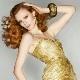 Платья золотого цвета – для королев!