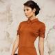 Терракотовое платье - универсальный образ