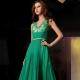 Зеленые вечерние платья
