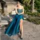 Платье без бретелей – загадочность и соблазнительность