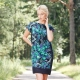 Платье из платков – простой крой и оригинальность