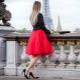 С чем носить и как сшить юбку-американку?