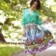С чем носить и как сшить юбку-татьянку?