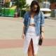 Удлиненная джинсовая куртка