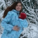 Пуховики для беременных