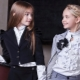 Блузки для девочек для школы