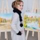 Пальто для девочки осень-весна