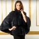 Норковое манто – стильная вещь для роскошной женщины