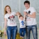 Семейные футболки с надписями