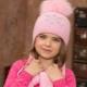 Детские шапки для девочки