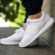 Белые женские кроссовки Nike