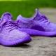 Фиолетовые кроссовки