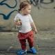 Детские кроссовки на липучках