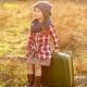 Комплект - шарф и шапка для девочки