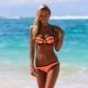 Оранжевый купальник