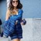 С чем сочетается синий цвет в одежде?
