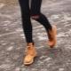 Ботинки из нубука