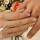 Обручальные кольца с алмазной гранью