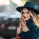 Женские фетровые шляпы на осенне-зимний сезон