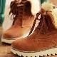 Женские зимние ботинки на толстой подошве