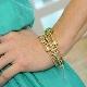 Золотой браслет Pandora