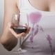 Как отстирать пятна от красного вина на одежде?