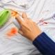 Как отстирать пятна с одежды?