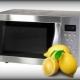 Как почистить микроволновку лимоном?