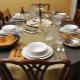 Правила сервировки стола к обеду